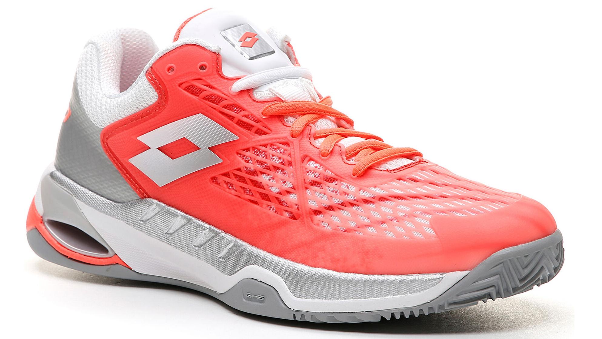 Tenisové boty na antuku LOTTO MIRAGE 100 CLAY – používá Kateřina Siniaková a Matteo Berrettini