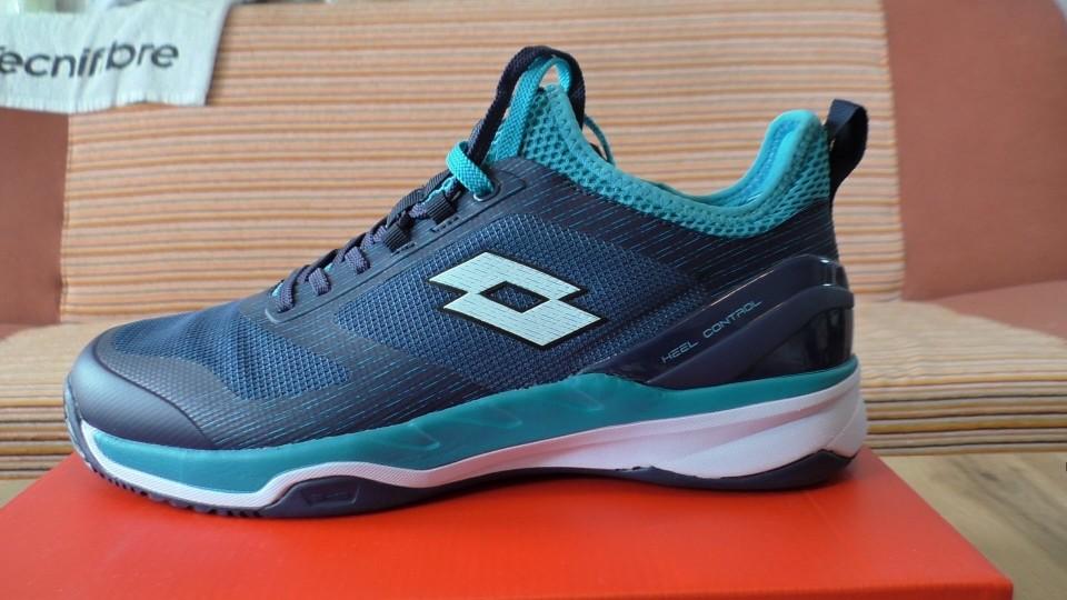 Tenisové boty na antuku LOTTO MIRAGE 200 CLAY – stabilita a komfort v pěkném designu